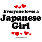 Everyone loves a Japanese girl