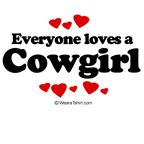 Everyone loves a cowgirl