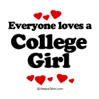 Everyone loves a college girl