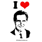 I love Mitt Romney