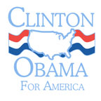Clinton / Obama: For America