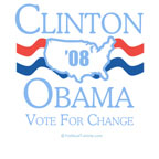 Clinton / Obama 2008: Vote for Change