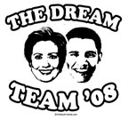 The dream team: Clinton / Obama