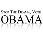 Stop the drama, vote Obama