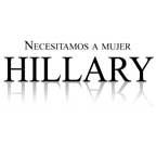 Necesitamos a mujer Hillary
