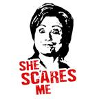 Anti-Hillary: She Scares Me