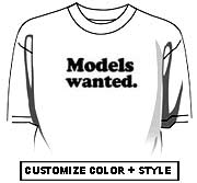 Models wanted.