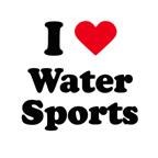 I love water sports
