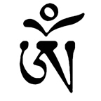 Tibetan Om Symbol