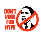 Don't vote for hype