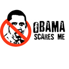 Obama scares me / Anti-Obama