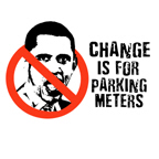 Change is for parking meters / Anti-Obama