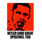 Hitler gave great speeches, too
