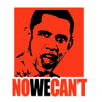 NO WE CAN'T / ANTI-OBAMA