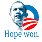 Obama: Hope Won