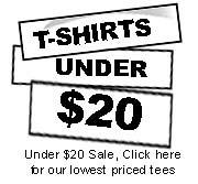 Geek T-shirts under $20