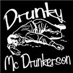 Drunky McDrunkerson White