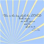 Psalms 118 24 Sun Burst