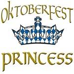 Oktoberfest Princess with Crown