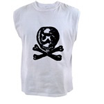 Antique Skull and Crossbones Pirate Image