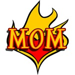 Flaming Tattoo MOM for Mothers Day