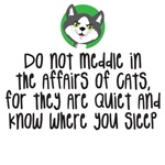 DO not meddle in the affairs of cats