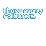 I have many followers (twitter version)