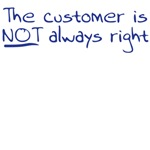 customer is not