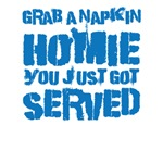 Grab a napkin