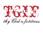 god is fictitious