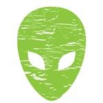 Distressed Alien Head