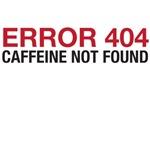 Error 404 Caffeine Not Found