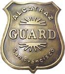 Alcatraz Guard Badge