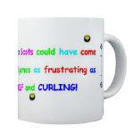Curling Coffee Mugs
