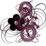 3D Dragon Flower