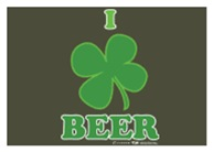 I Love Beer Clover