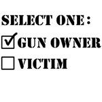 gun owner or victim