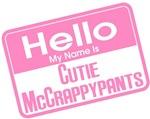 Pink - Hello Cutie McCrappypants