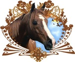 Horse Lover Crest Graphic