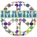 Retro Peace Sign Imagine