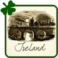 Ireland Illustration Vintage Art