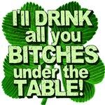 Offensive Irish Drinking Humor T-shirts