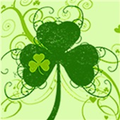 Fancy St Pattys Shamrock T shirts