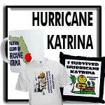 Hurricane Katrina tshirts