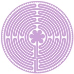 Purple Chartres Labyrinth
