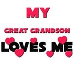 My GREAT GRANDSON Loves Me