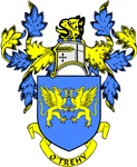 O'TREHY Coat of Arms
