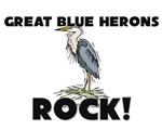 Great Blue Herons Rock!
