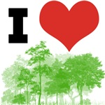 I Heart Trees / Forest / Nature