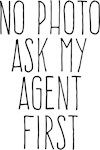 No photo ask my agent